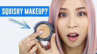 squishy makeup hot or not tina tries it