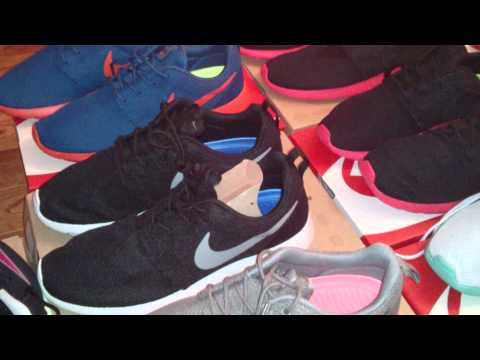 My Entire Nike Roshe Run Collection