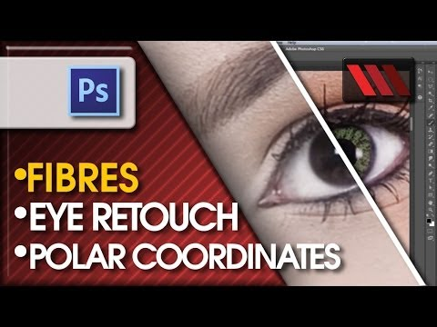 Adobe Photoshop - Eyes reconstruction and replacement (Tutorial by VoxLab)