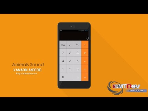 Xamarin Android Tutorial - Calculator App