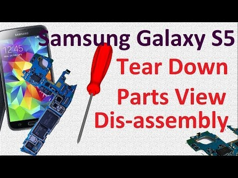 Samsung Galaxy S5 SM G900H: Tear down, Parts View, Assembly, Disassembly