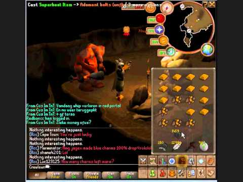 Superheating gold while fletching bolts!