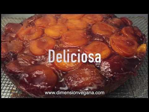 Torta de albaricoque o damascos