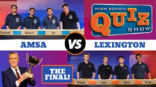 High School Quiz Show The Championship Advanced Math Science Vs Lexington 715