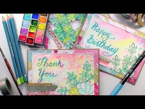 5 Tips to Improve Hand Lettering // Hand Lettered Greeting Cards