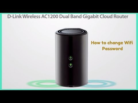 How to Configure  DIR 850L Etisalat  Router Wifi password change