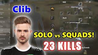 Team Liquid Clib - 23 KILLS - M416 + Mini14 - SOLO vs SQUADS! - PUBG