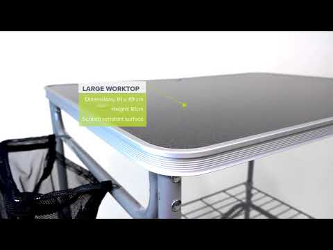 Kampa  Major Field Kitchen  Product Overview