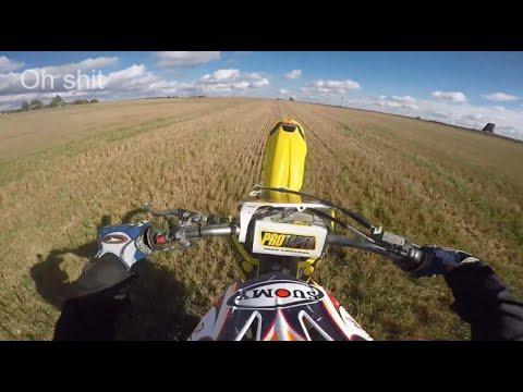 Suzuki RMZ250 Wheelie Practicing | ALMOST CRASHED!