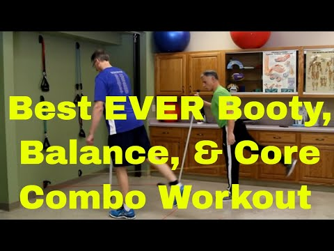 Best EVER Booty, Balance & Core Combo Workout
