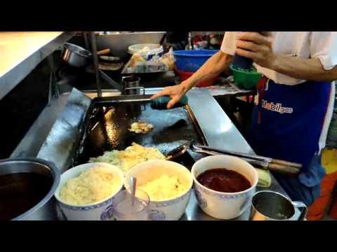 Crispy Oyster Omelette