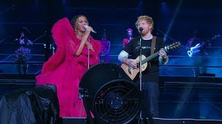 Beyonc And Ed Sheeran  Xo  Perfect  Global Citizens Festival Johannesburg Sa 1222018