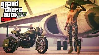 "GTA 5 ONLINE NEW DLC VEHICLE ""PEGASSI FCR 1000"" MOTORCYCLE GAMEPLAY & CUSTOMIZATION! (GTA 5 DLC)"