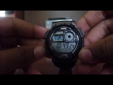 How To Adjust Time In Casio: ILLUMINATOR