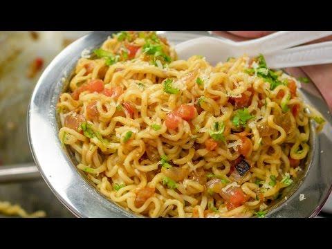 Masala Maggi Recipe in Hindi | Indian Street Style Veg Maggie Noodles hindi me |