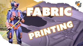 Custom Printed Bodysuit and Armor Attachments - Destiny Sweeper Bot Build