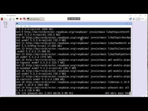 Install Qt5/Qt Creator on Raspberry Pi 2/Raspbian Jessie