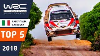 WRC - Rally Italia Sardegna 2018: TOP 5 HIGHLIGHTS