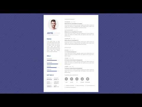 Free Professional Resume Template - Minimalist Lite