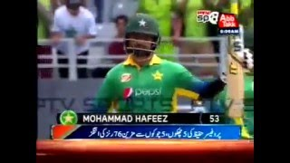 """5 Sixes And 5 Fours, Muhammad Hafeez """"The Professor"""" Scored 76 Runs"""