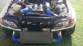 Nissan 240SX S14 Kouki with 1JZGTE Twin Turbo Automatic Swap