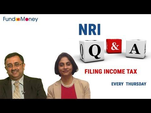 NRI Q&A, Filing Income Tax