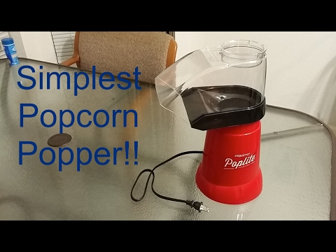 The Best Popcorn Maker!? Hot Air Popper (So Simple!)
