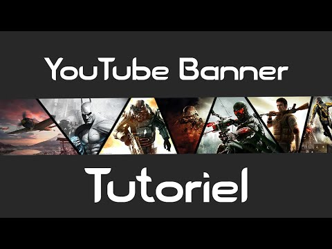 How to Make a Collage YouTube Banner with Photoshop