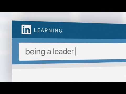 Being a leader | LinkedIn Learning