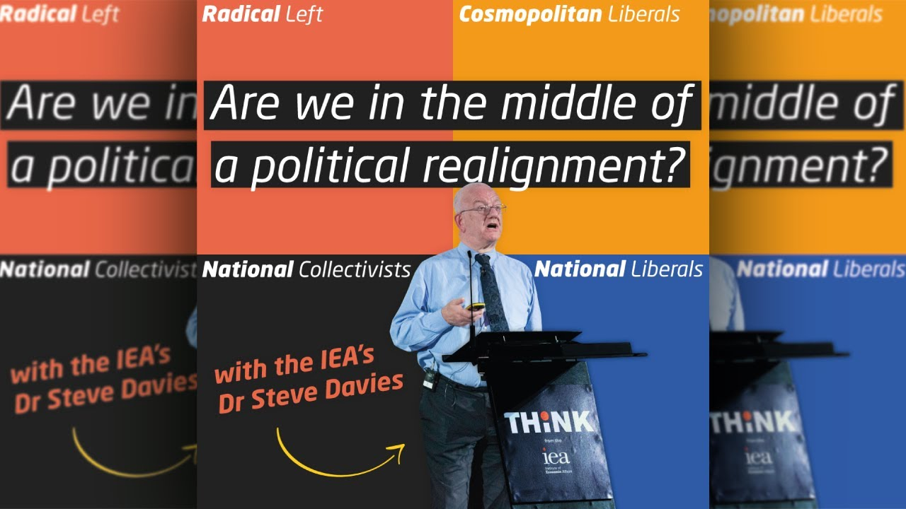 Are we in the middle of a political realignment, with Dr Steve Davies