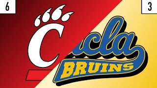 6 Cincinnati vs. 3 UCLA Prediction | Who