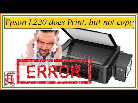 Epson L220 L380 L800 L210 L360 L1300 Service Required