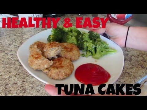 Baked Tuna Cakes {Clean Eating} | Lauren Benet
