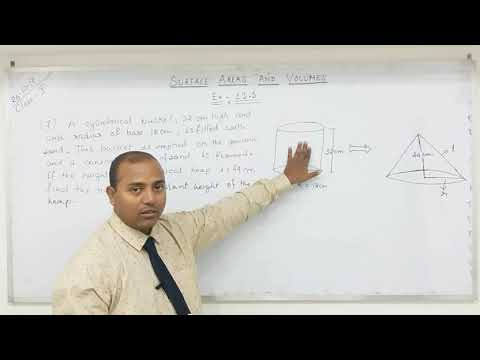 Class 10 Surface Areas and Volumes  (Part-14)