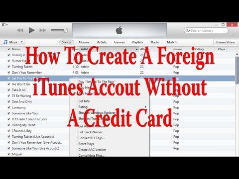 How To Create Foreign iTunes Account Without A Credit Card