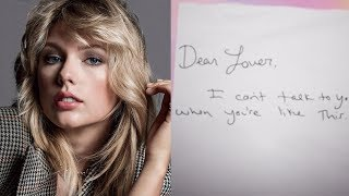 Taylor Swift Releases Personal Love Letters & Playlist