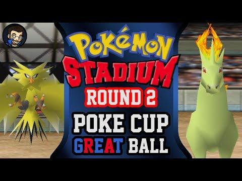 Pokémon Stadium - Round 2: Poké Cup | Great Ball |