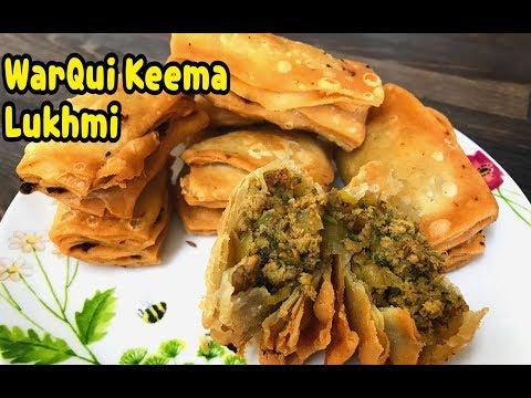 WarQi Keema Lukhmi / Hyderabadi Keema Lukhmi / Ramadan Recipes By Yasmin's Cooking