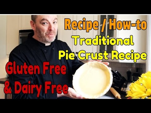 Gluten Free Pie Crust - The Simplest & Most Delicious Gluten Free Pie Crust Recipe You'll Ever Make