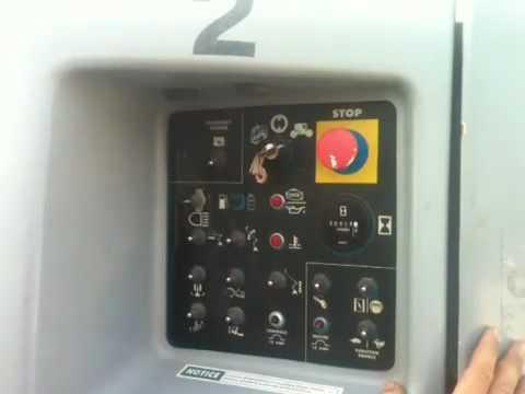 Starting Genie Z45-25 Manlift.MOV