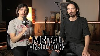 GOJIRA Magma Interview at Silver Cord Studio | Metal Injection