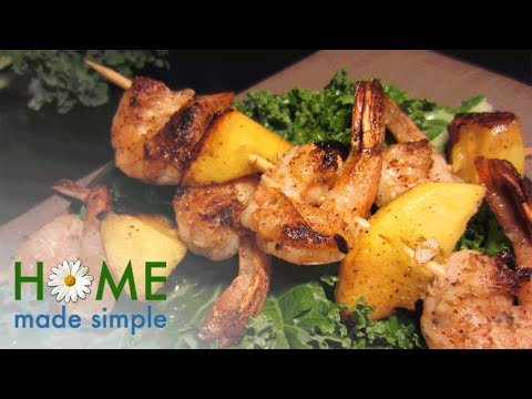 These 30-Minute Chicken and Shrimp Skewers are Perfect for Summer | Home Made Simple | OWN