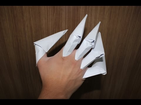 How to Make a Paper Claws