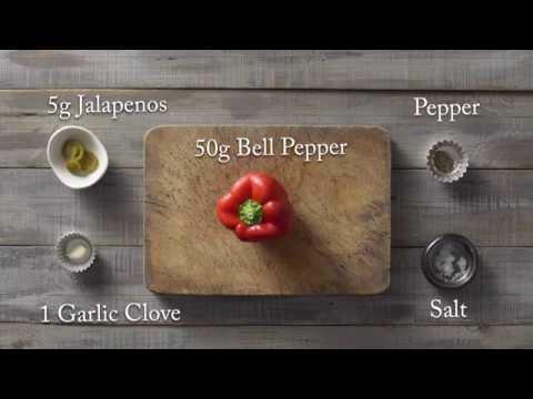 Roasted Bell Pepper Dip