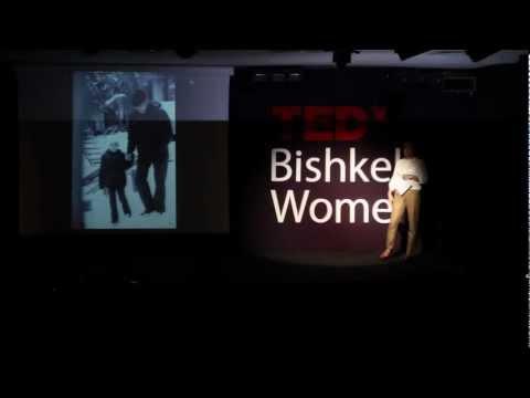 Relations between daughter-in-law and mother-in-law: Aida Kasymalieva at TEDxBishkekWomen