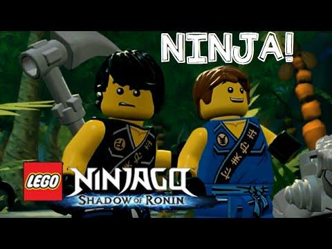 LEGO Ninjago: Shadow of Ronin Walkthrough/Gameplay English Commentary 3DS/PS VITA Part 1 Chen!