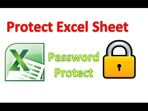 How to Protect Excel Sheet by Password