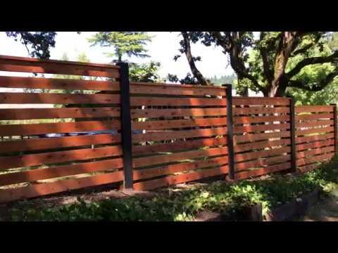 Fence Construction | Willamette Valley General Contractors Oregon