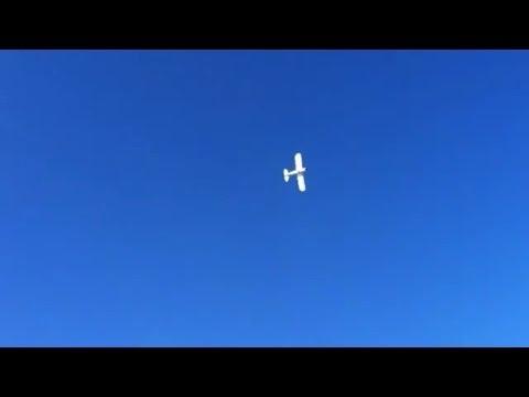 Oct 7th 1 Hobbyzone Super Cub DSM 7400 maiden flight.mp4