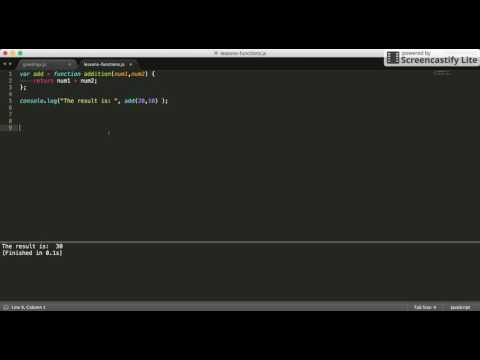 JS Different ways to define and call function in Javascript  (Straight to the point tutorials)